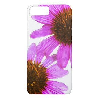 Purple Echinacea Flower Abstract Impressionism iPhone 7 Plus Case