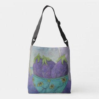 Purple Eggplant Crossbody Bag