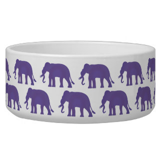 Purple elephants
