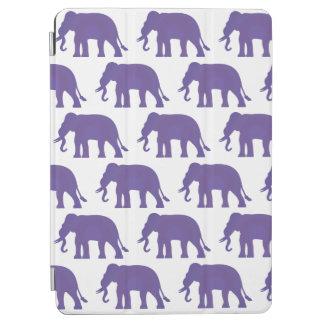 Purple elephants iPad air cover