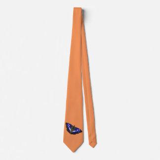 Purple Emperor Butterfly Tie