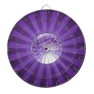 Purple Energy Globe Dartboard With Darts