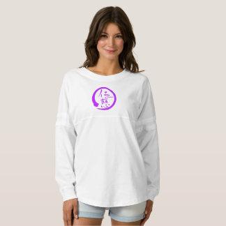 Purple enso zen circle • Kindness kanji Spirit Jersey