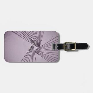 Purple Explicit Focused Love Luggage Tag