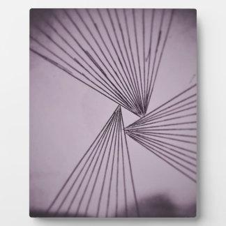 Purple Explicit Focused Love Plaque
