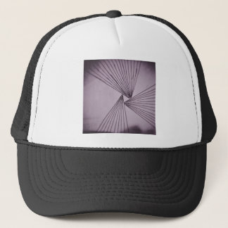 Purple Explicit Focused Love Trucker Hat