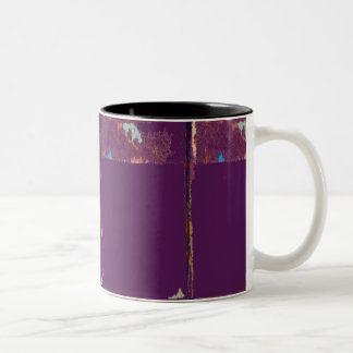 Purple Expression Abstract Mug