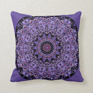Purple Exquisite Mandala Pillow