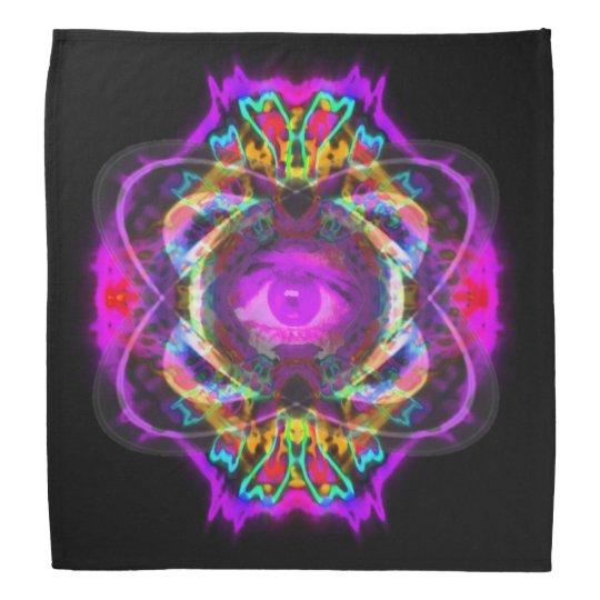 Purple eye of Saturn Kerchief