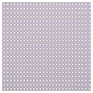 "Purple Fabric with White Polka Dots (54"" width)"