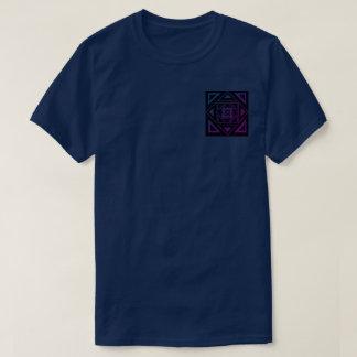 Purple fade Ill triangle shirt