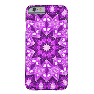Purple Faerie Flower Fractal Barely There iPhone 6 Case