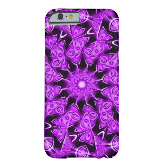 Purple Faerie Spirit Mandala Fractal Barely There iPhone 6 Case