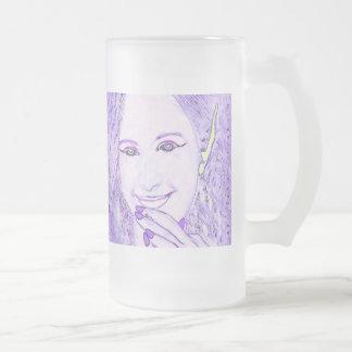 Purple Faeries Are Magical Friends Glass Mug