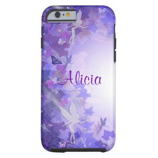 Purple fairies iPhone 6 case Tough iPhone 6 Case