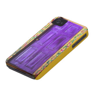 Purple Fairy Door iphone case