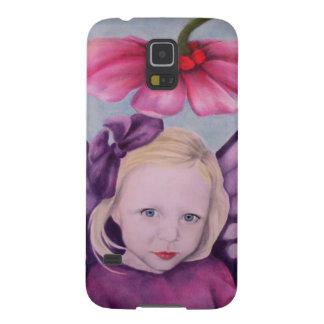Purple Fairy Galaxy S5 Covers