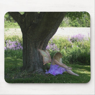 Purple Fairy Mouse Pad