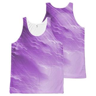 Purple Falling Lites tank
