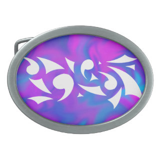Purple Fantasy Belt Buckle