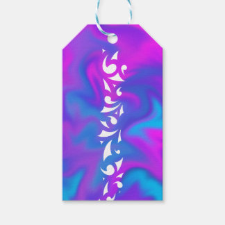 Purple Fantasy Gift Tag