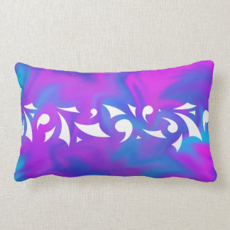 Purple Fantasy Lumbar Pillow