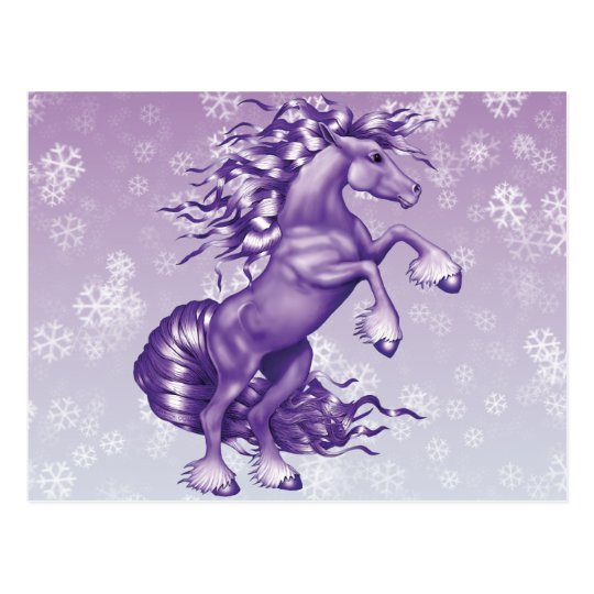 Purple Fantasy Postcard