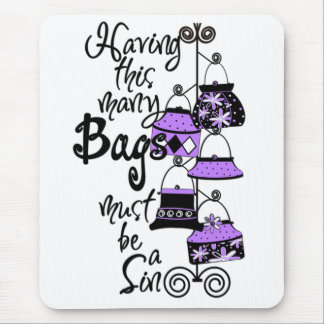 Purple Fashion Mousepad