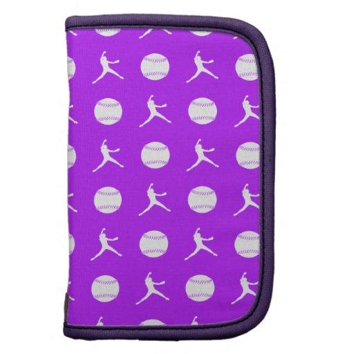 Purple Fastpitch Folio Planner