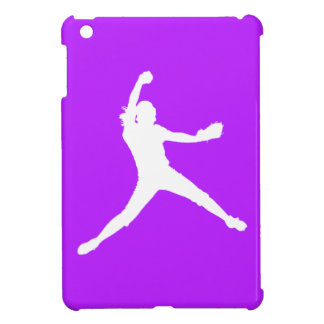 Purple Fastpitch iPad Mini Case
