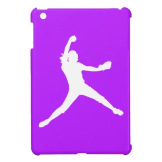 Purple Fastpitch iPad Mini Case
