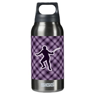 Purple Fencing Insulated Water Bottle