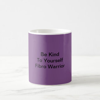 Purple Fibro Warrior Coffee Mug