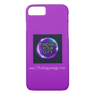 Purple Finding Your Gift I Phone 8/7 Case