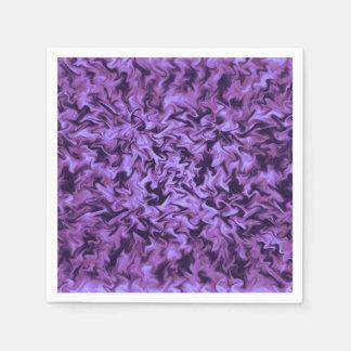 Purple Fire Paper Napkin