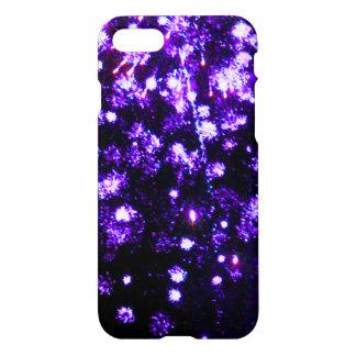 Purple Fireworks Burst iPhone 7 Case