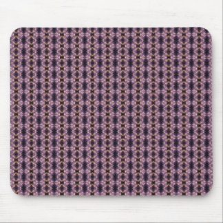 Purple Fireworks Pattern Mouse Pad