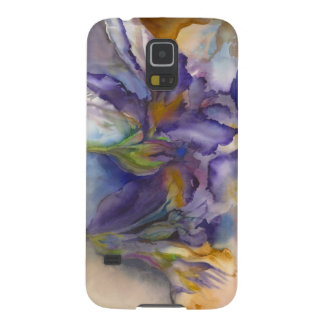 Purple Flame Galaxy S5 Cover