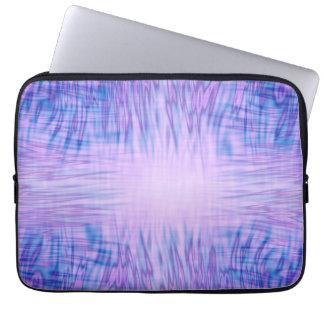 Purple Flames Laptop Sleeve