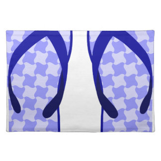 Purple Flip Flops Placemat