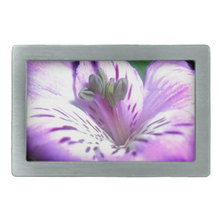 Purple Flora Belt Buckles