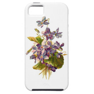Purple Flora iPhone 5 Cases