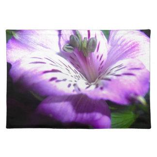 Purple Flora Placemat