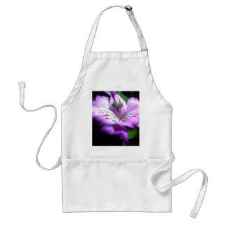 Purple Flora Standard Apron