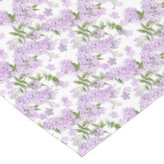 Purple Floral Easter Short Table Runner
