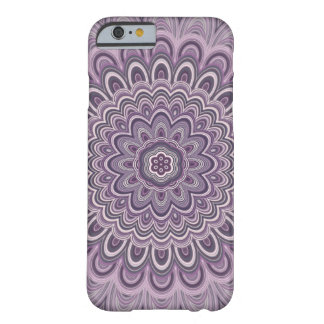 Purple floral mandala barely there iPhone 6 case