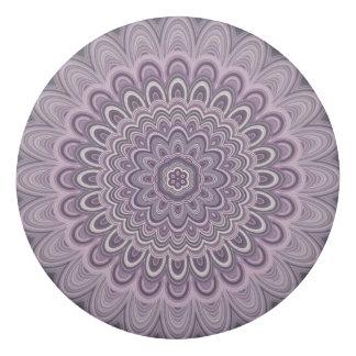 Purple floral mandala eraser