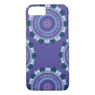 Purple Floral Mandala iPhone 7 Case