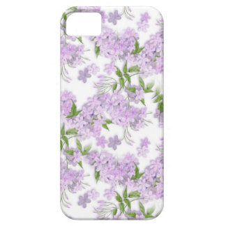 Purple Floral Sprint iPhone 5 Cover