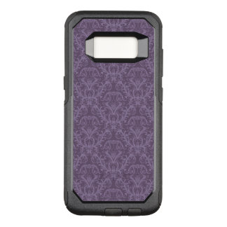 Purple floral wallpaper 2 OtterBox commuter samsung galaxy s8 case